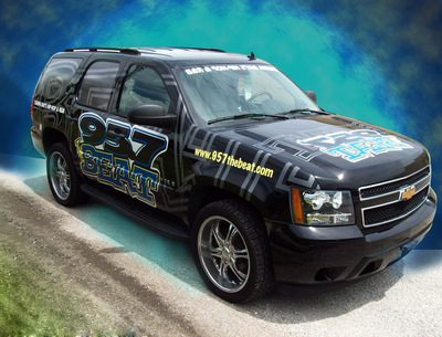 Full SUV Wrap