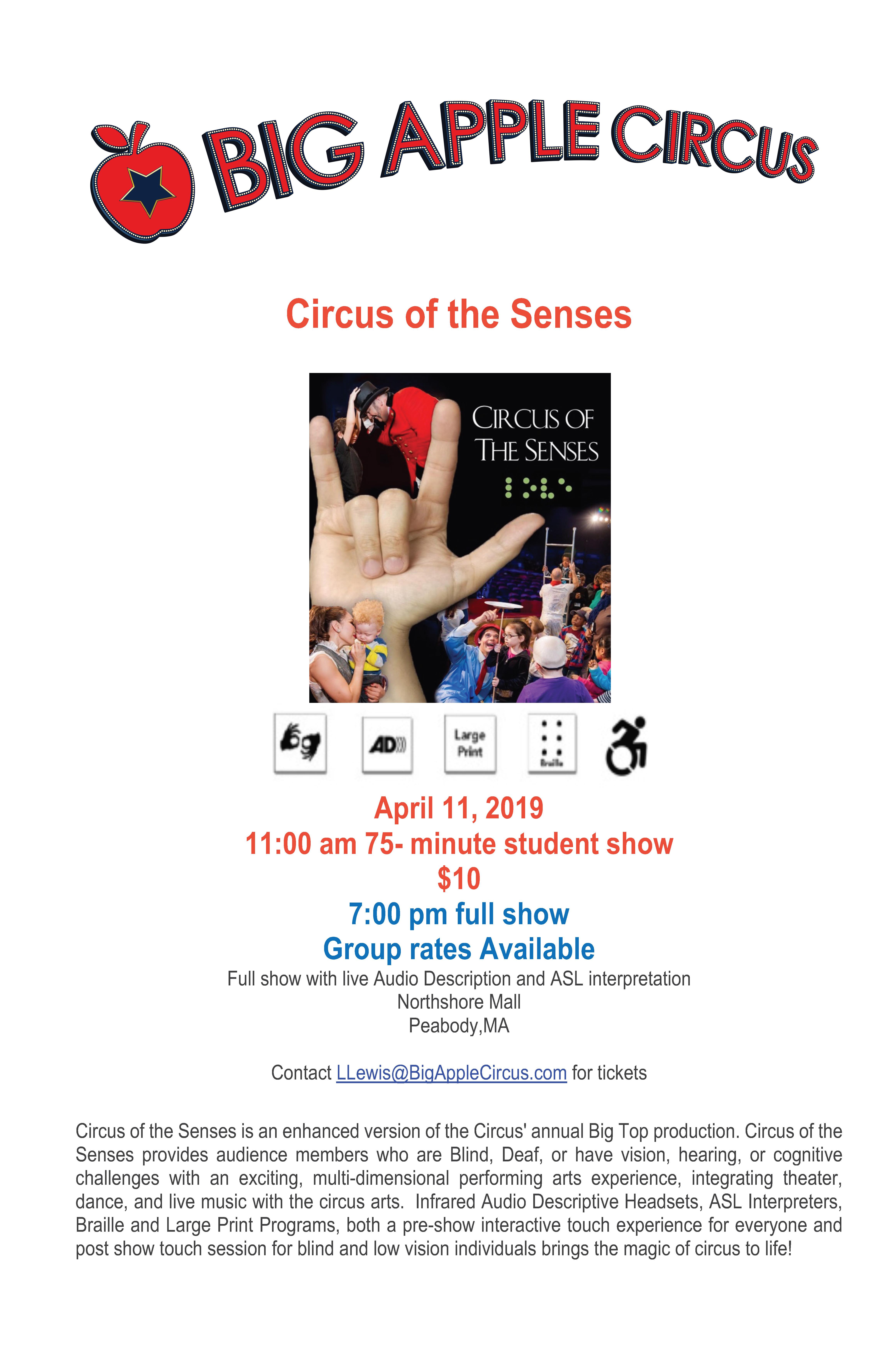 Circus of the Senses