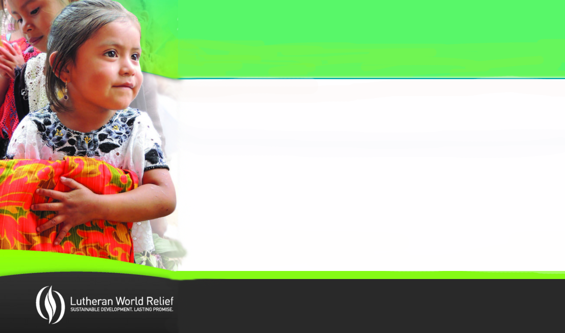 2020 Lutheran World Relief Ingathering