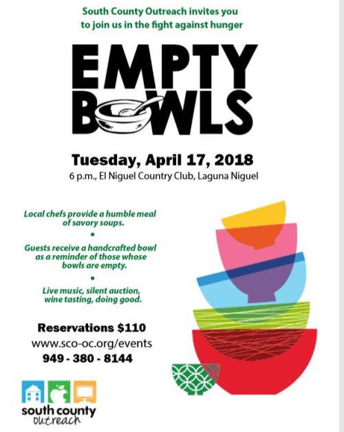 Empty Bowls Event