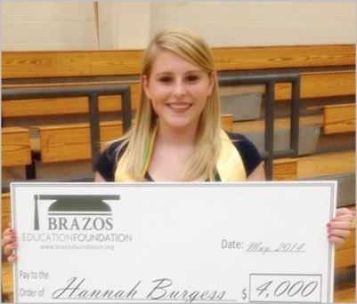 Hannah Burgess - Moody High School Graduate