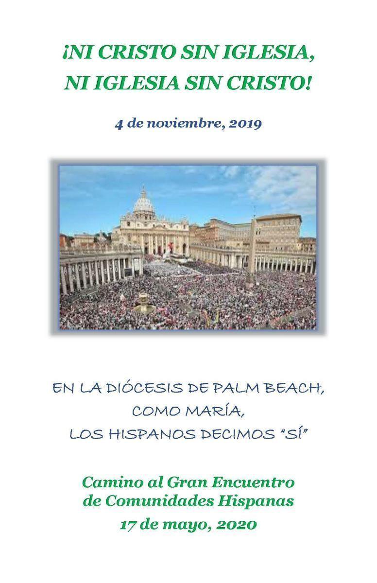 Catequesis Noviembre 2019