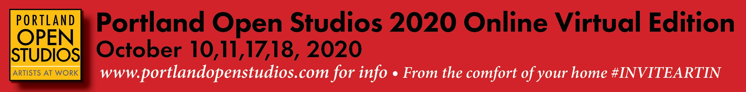 91 artists are part of the 2020 Portland Open Studios VIRTUAL Event on October 10, 11, 17, 18
