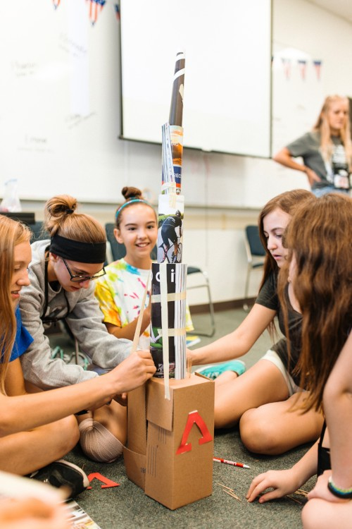 Launch Middle School Leadership Camp Lincoln Nebraska