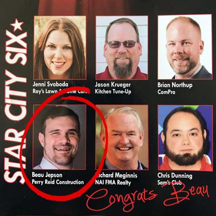 Star City Six - Beau Jepson