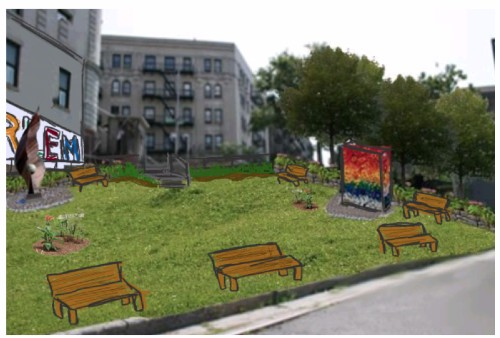 Proposed Green Urban Space by Environmental Stewards