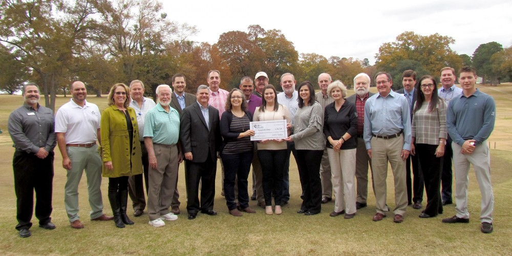 Interfaith Clinic Received Check from First Financial Bank/SHARE Foundation Benefit Golf Tournament