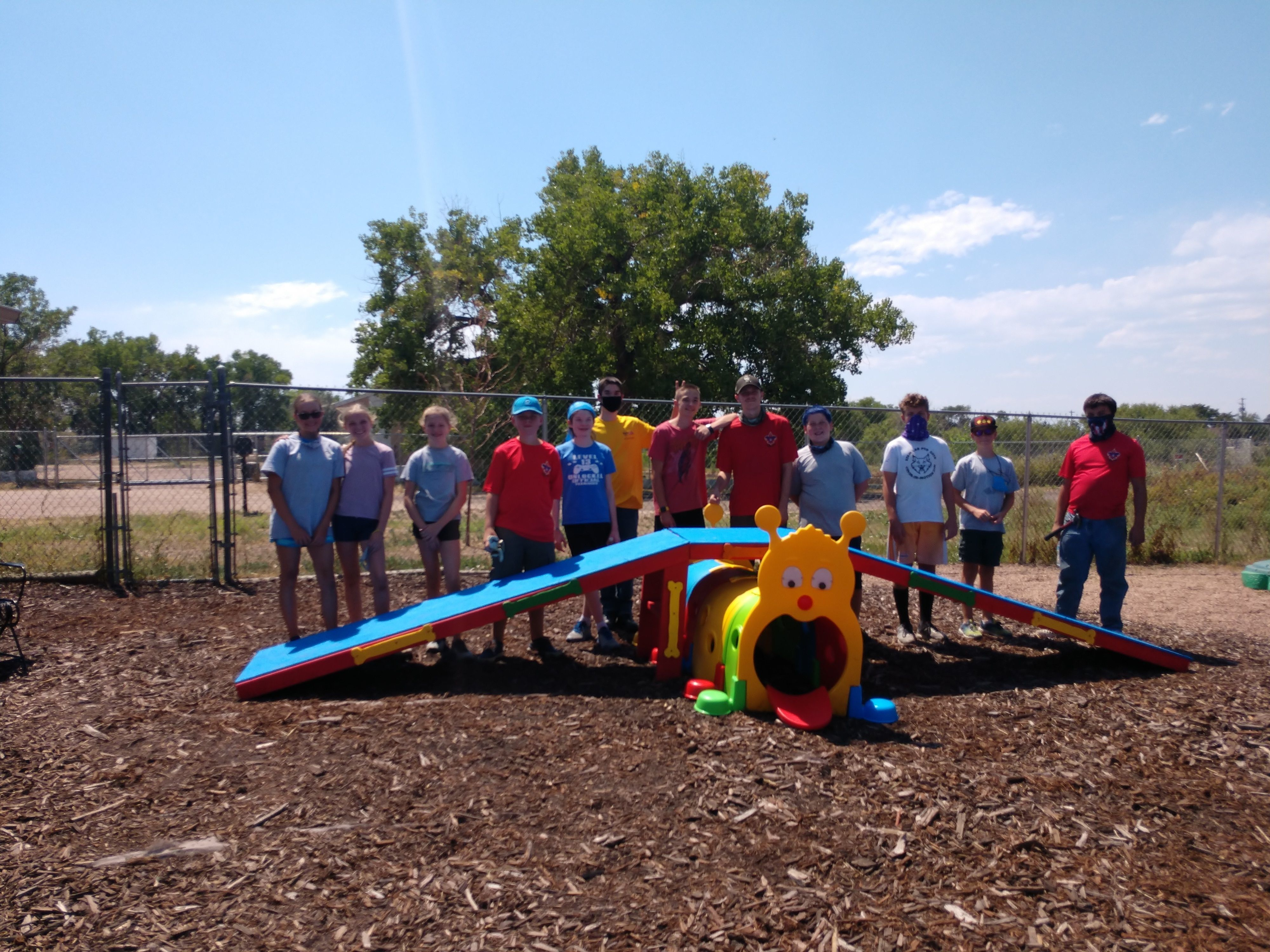 Eagle Scout Project at IHDI
