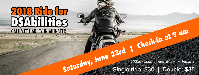 Ride for DSAbilities Fundraiser, a DSA of NWI & Chicagoland Hosted Event!