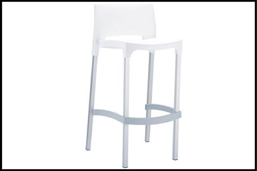 Gio White High Chair