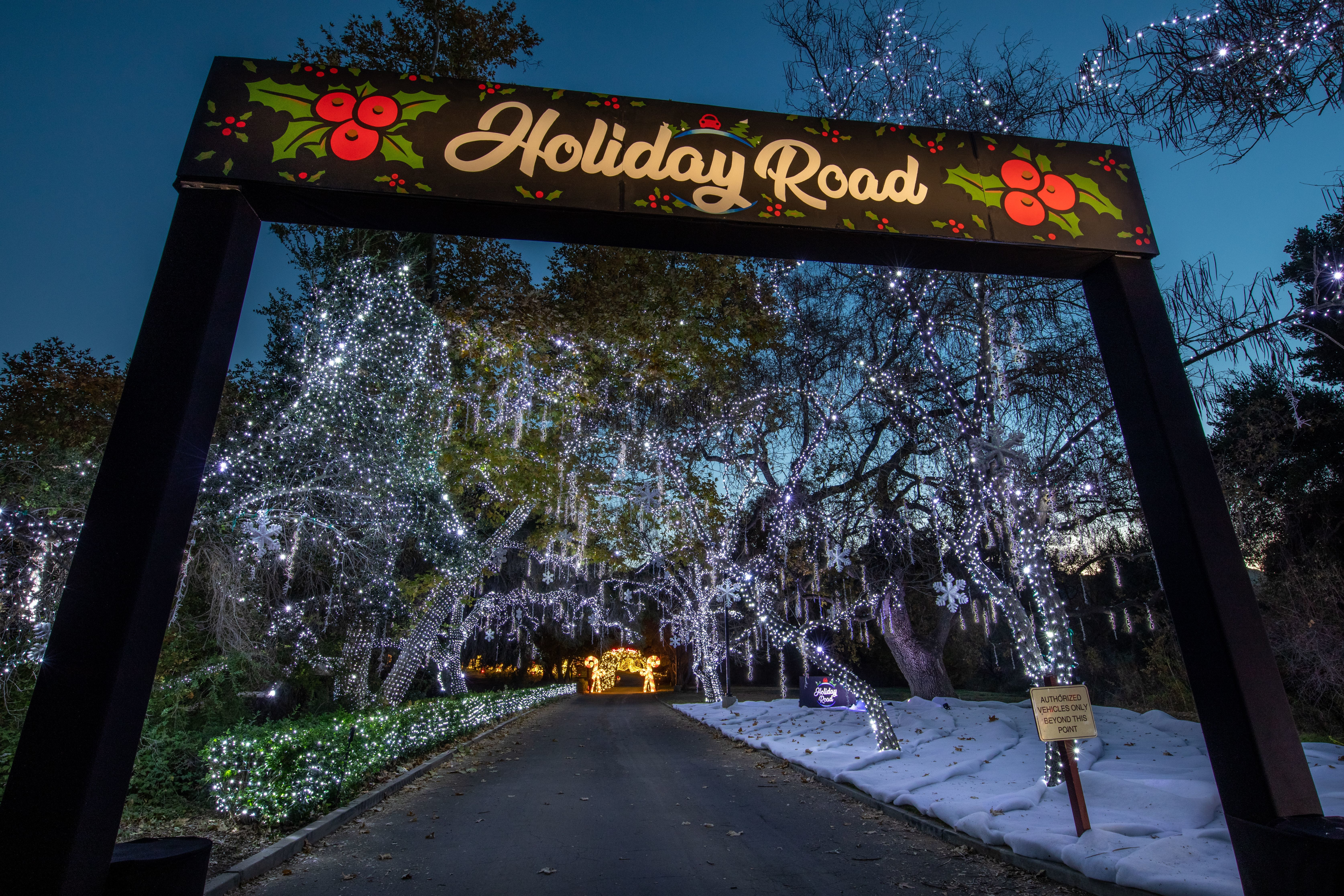 HOLIDAY ROAD WILL ILLUMINATE THE GROUNDS OF MORVEN PARK FOR A SPECTACULAR LIGHT SHOW EVENT DURING THE HOLIDAY SEASON