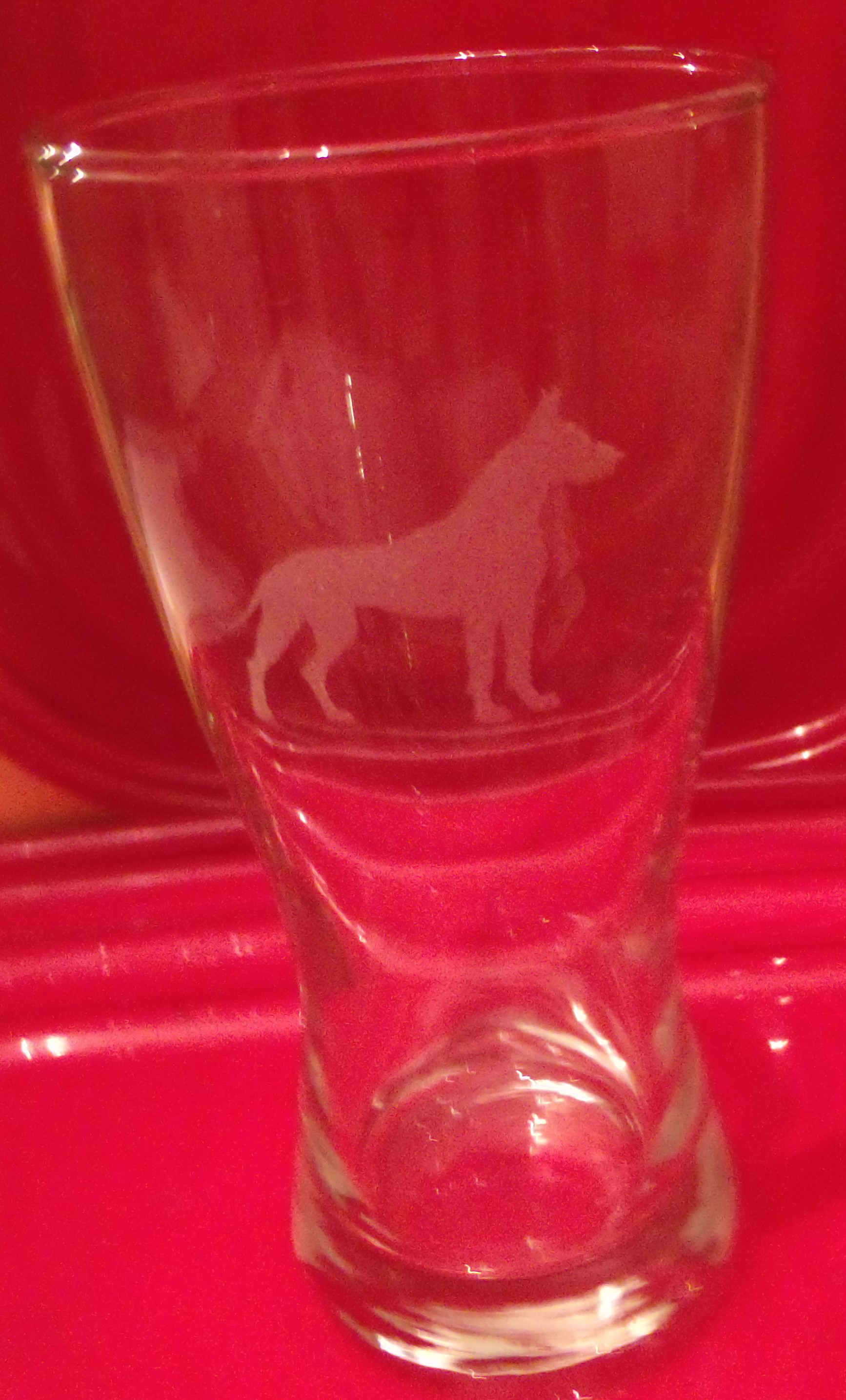 Beer Glass, Cropped ear