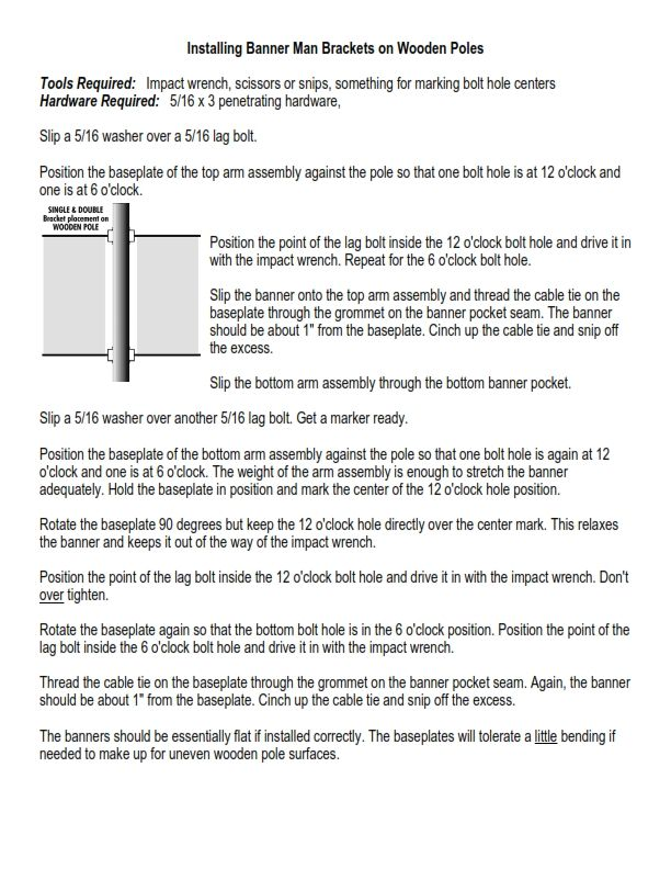 "(DOWNLOAD PDF) ""Installing Standard Brackets on Wooden Poles"""