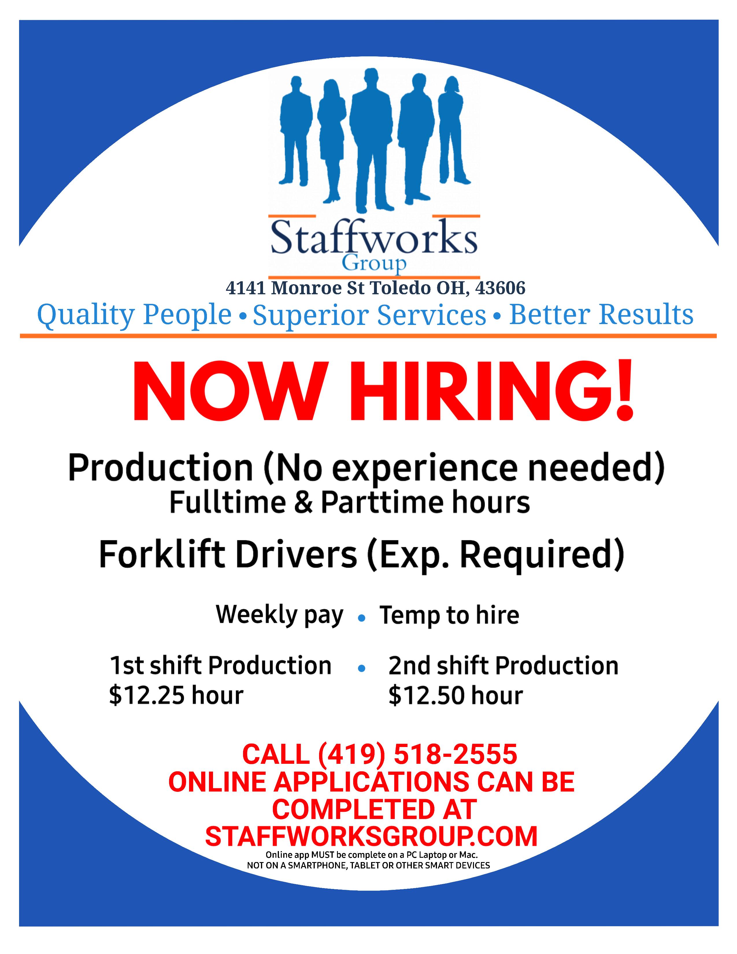 Staffmark Job Postings