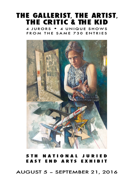 5th Annual National Art Competition & Exhibit: The Gallerist, The Artist, The Critic, & The Kid (posted July 6, 2016)
