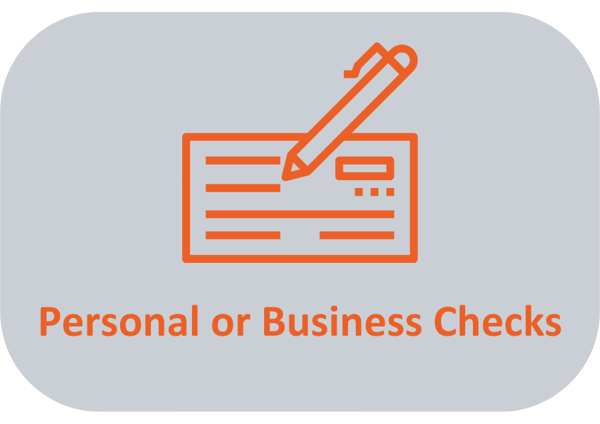 Personal or Business Checks