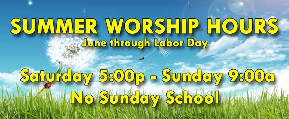 *Summer Worship
