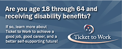 Learn more about Ticket to Work