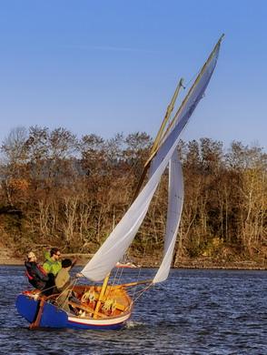 staff sailing