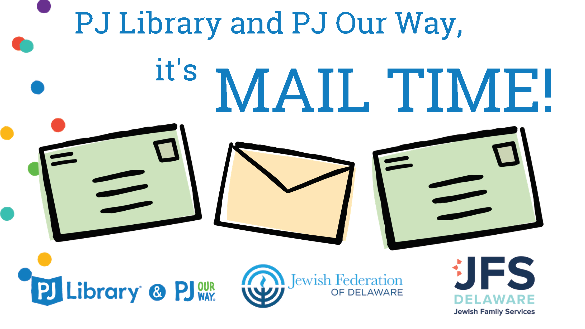 PJ Library & Our Way Mail Time
