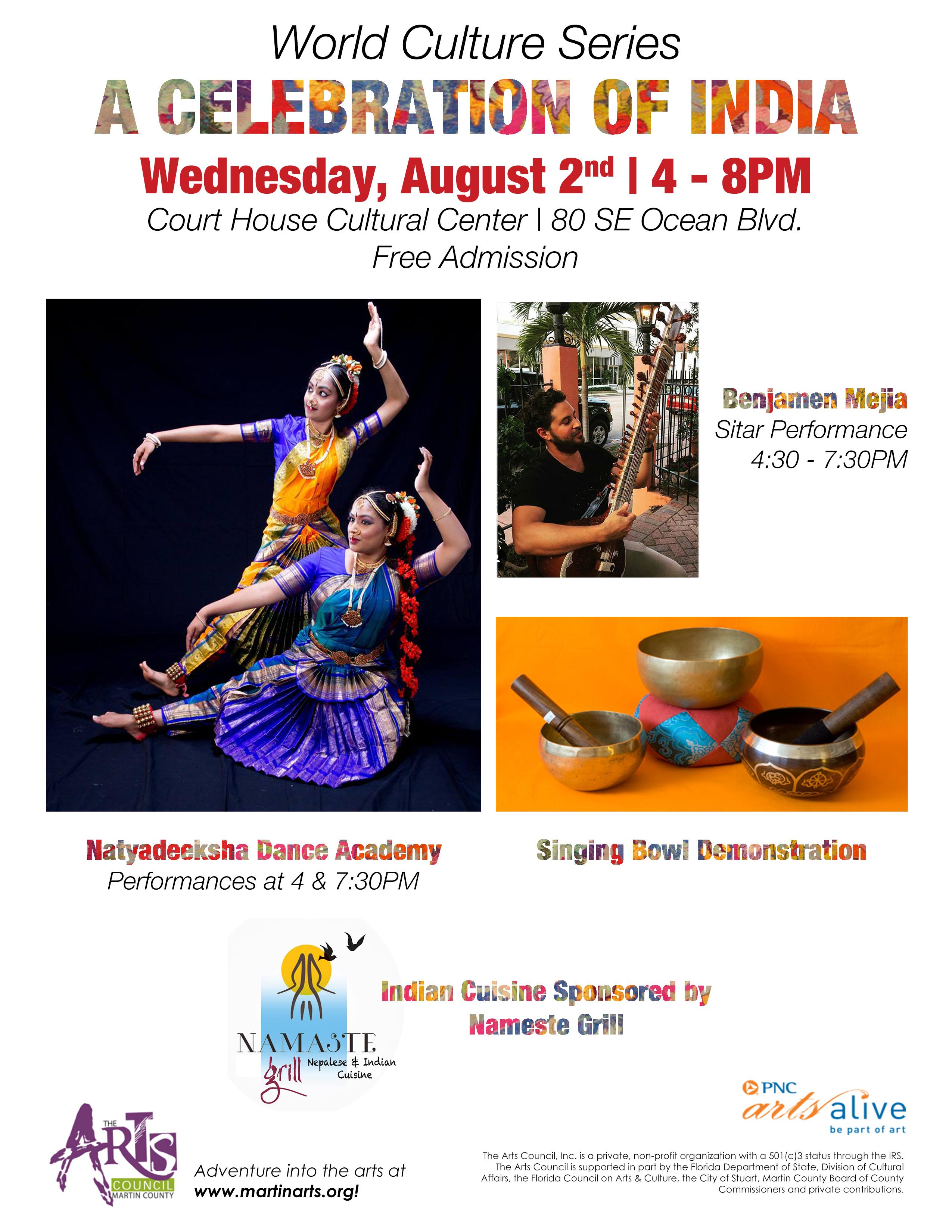 World Culture Series: Celebration of India