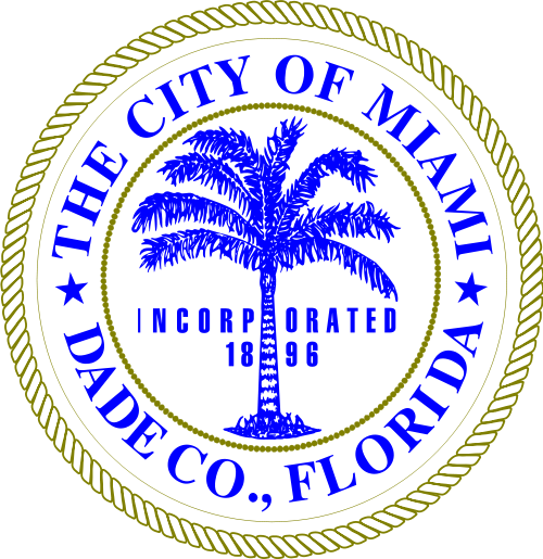 X33093 -  Seal of the City of Miami