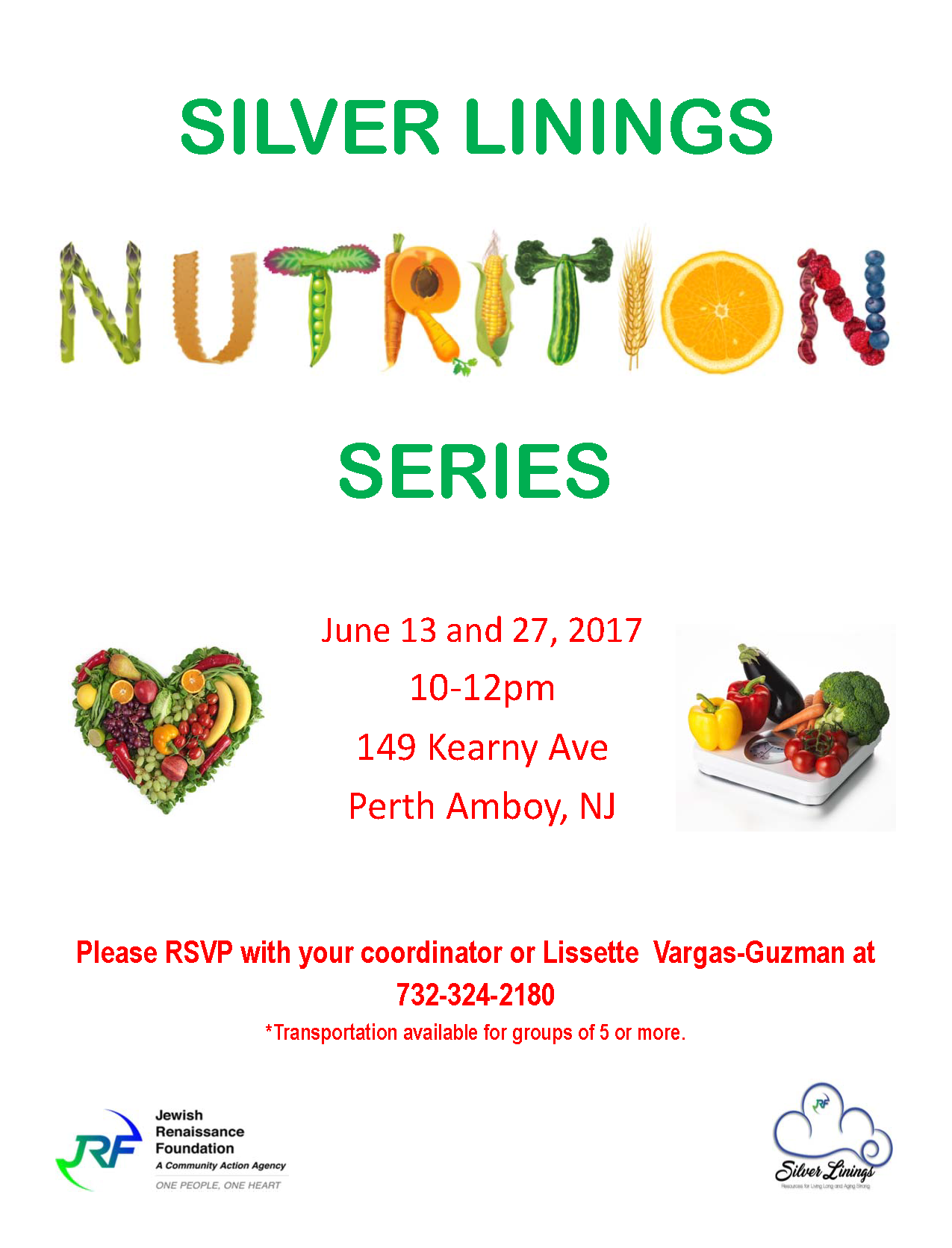 Silver Linings Nutrition Series