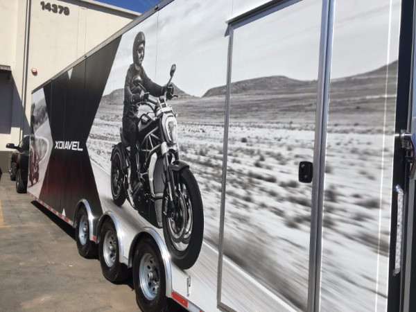 Vinyl Wraps for Trailers in Orange County CA