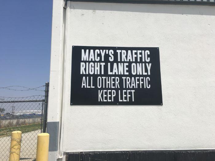 Warehouse Wall Signs