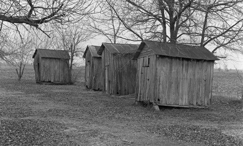 Four Cottonseed Houses