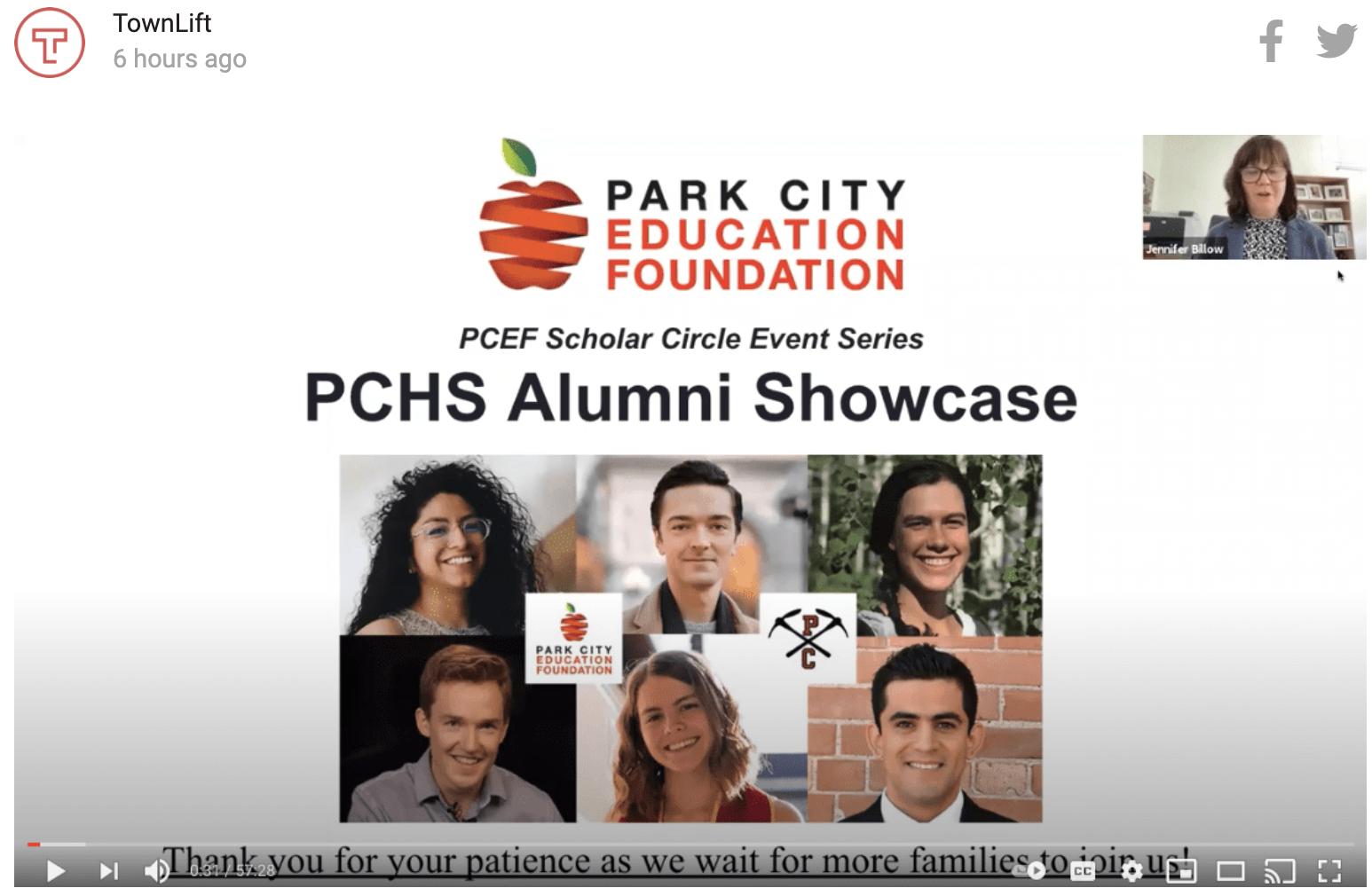 Park City Education Foundation brings back some Park City High alumni, virtually