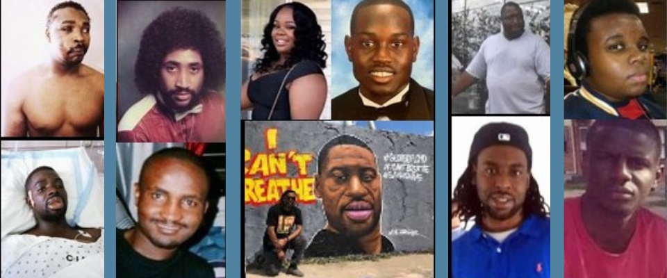 Blacks link in a long chain of deaths and injuries involving the police