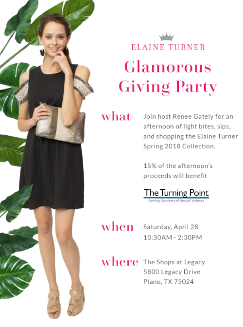 Glamorous Giving Party at Elaine Turner