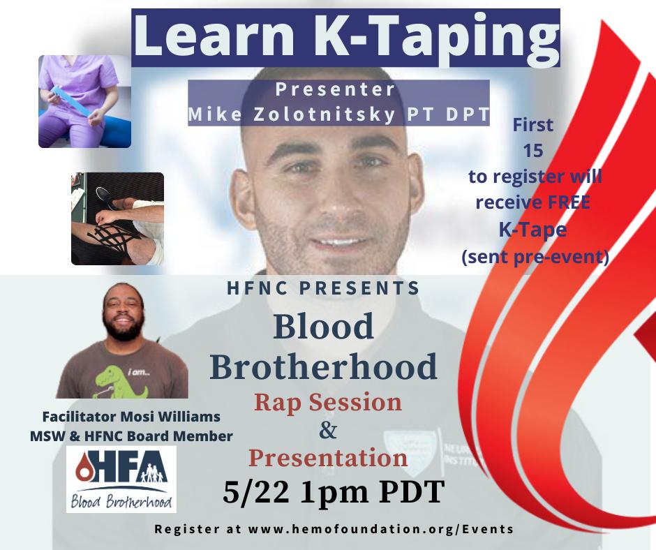 Blood Brotherhood Rap Session & Presentation