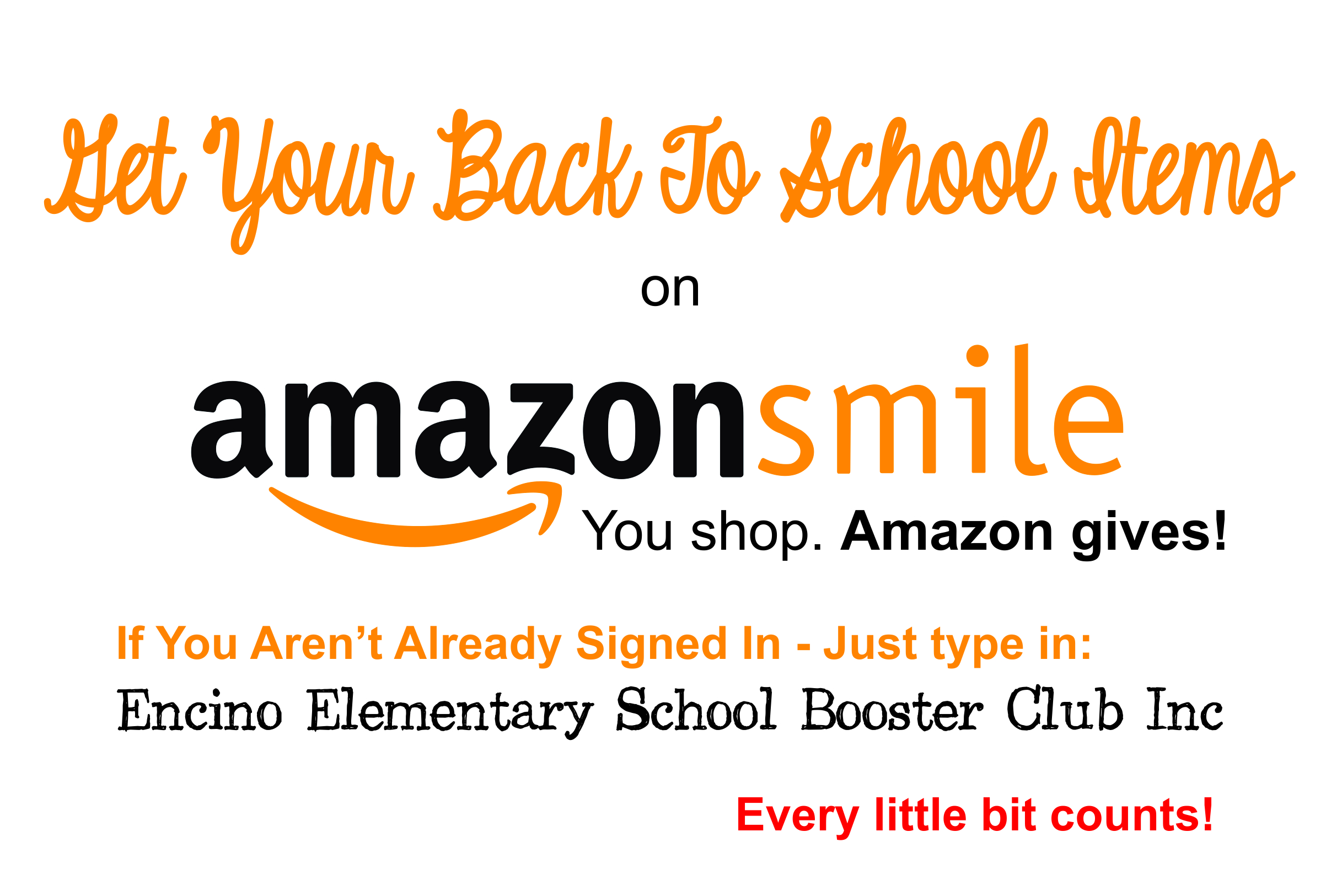 Contribute to ECES through Amazon!