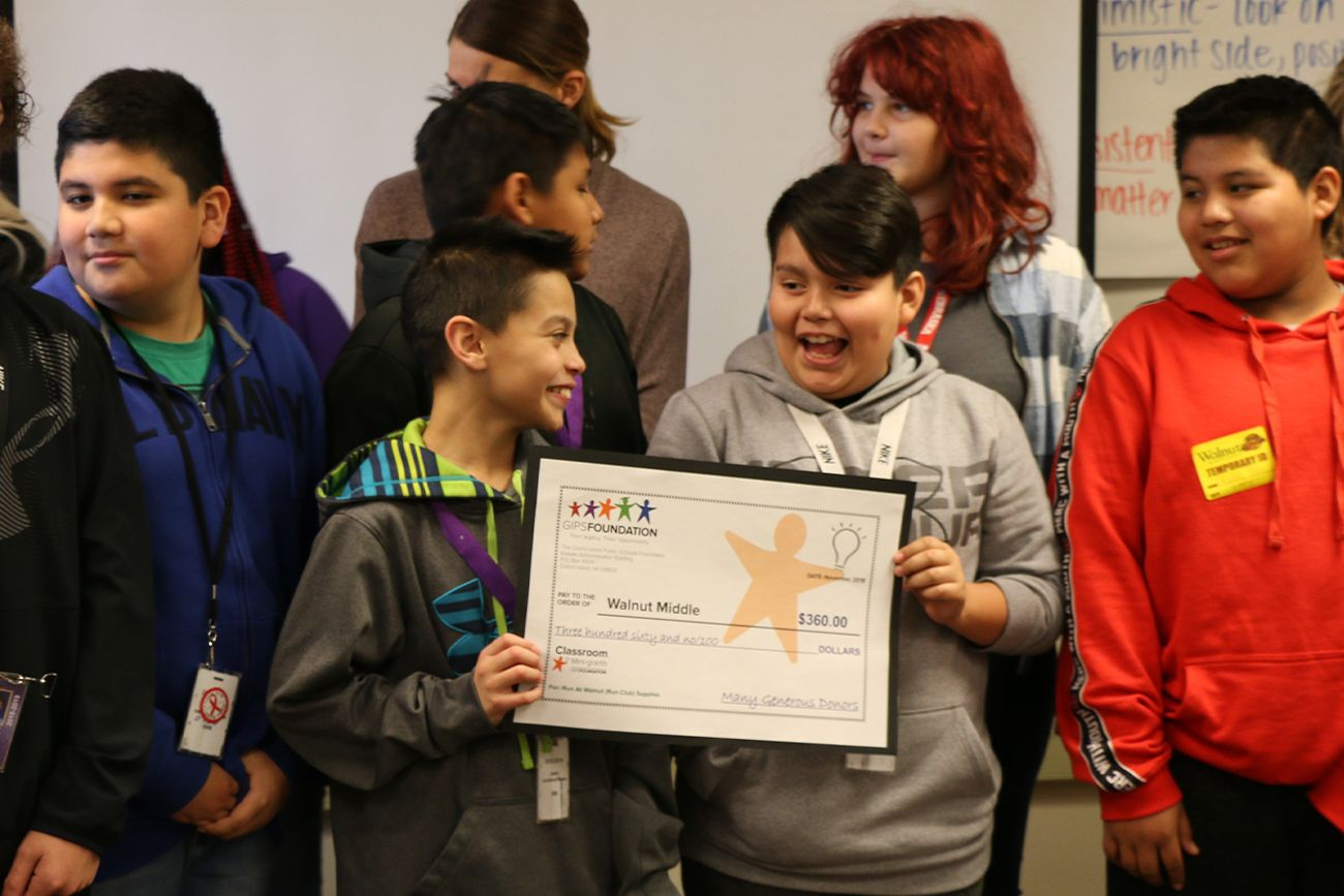 Accepting Classroom grant applications for Round One