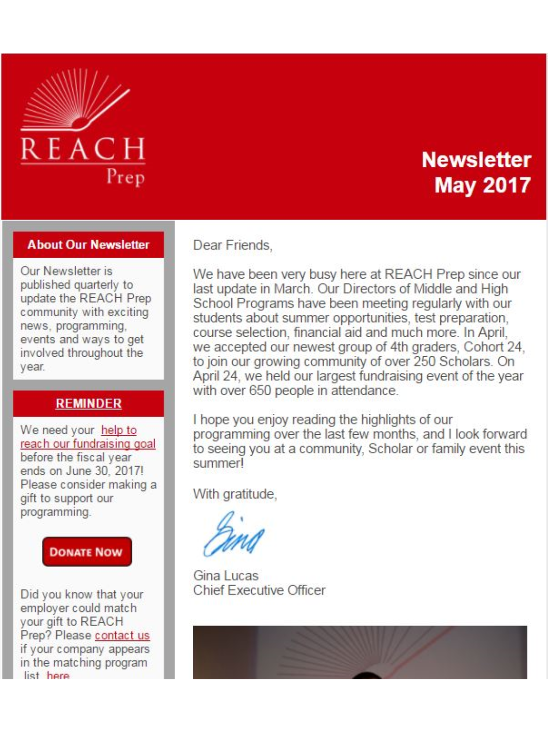 Newsletter: May 2017