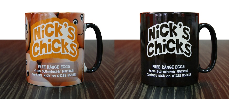 BRANDED HEAT CHANGE MUGS
