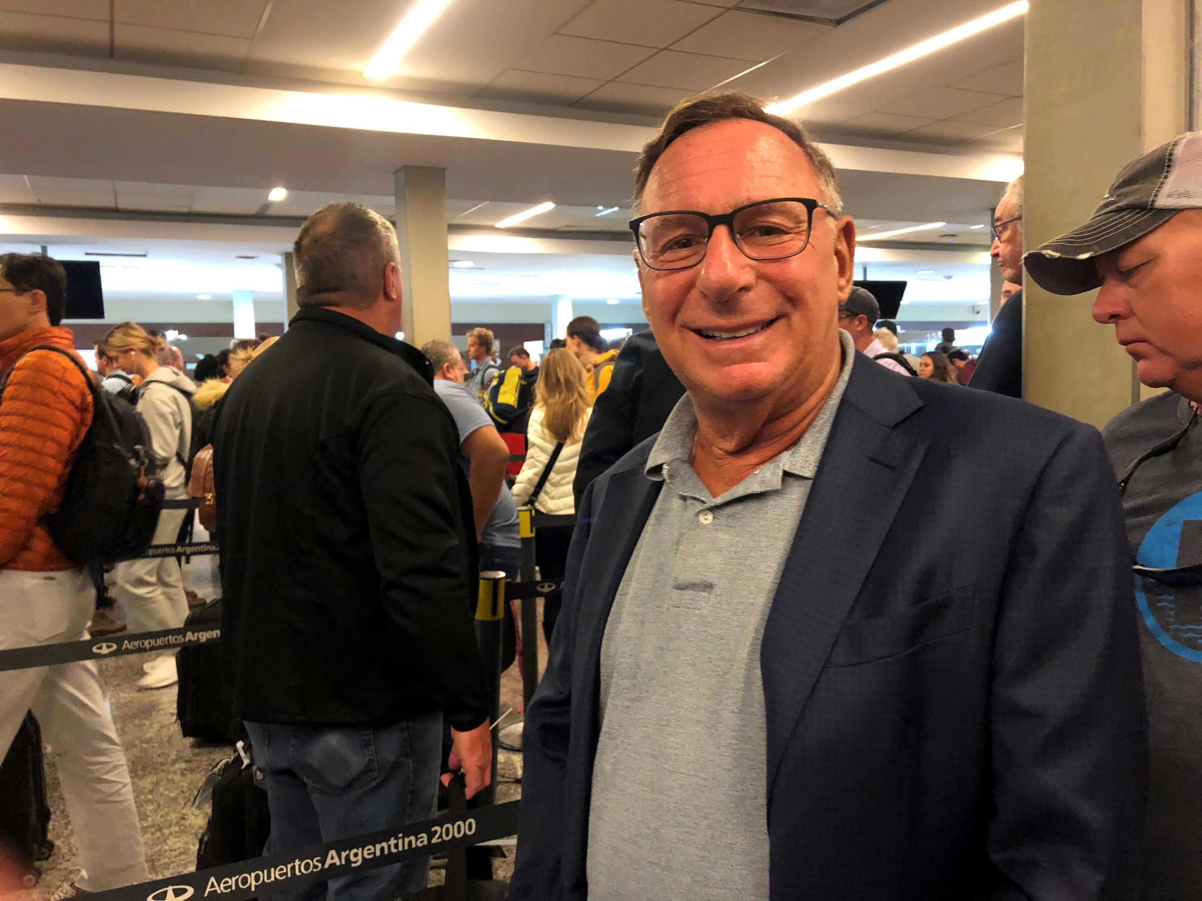 JFD President, Richard Levine