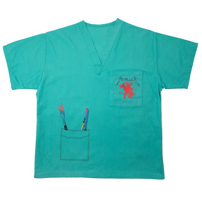 Crash Course Scrub Top