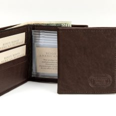 Wallet-Hipster Buffalo Leather