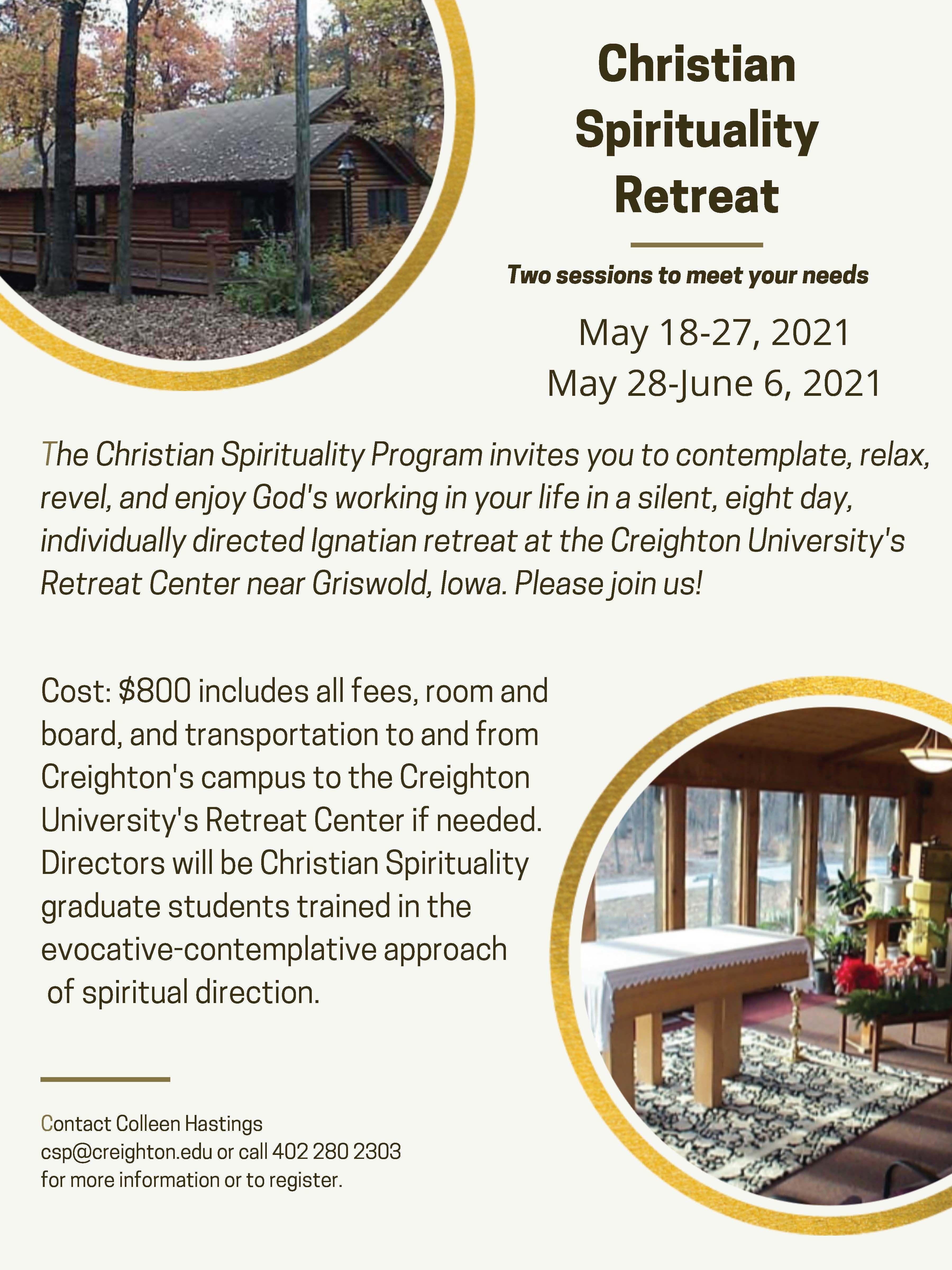 Christian Spirituality Retreat