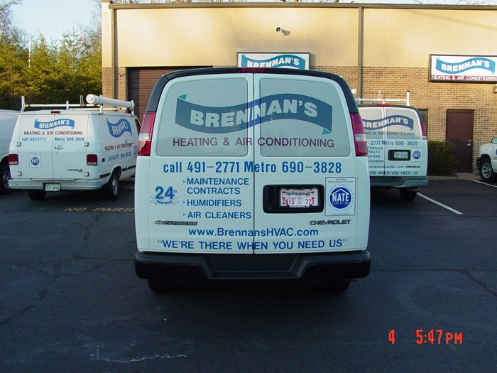 Brennans Van Graphics