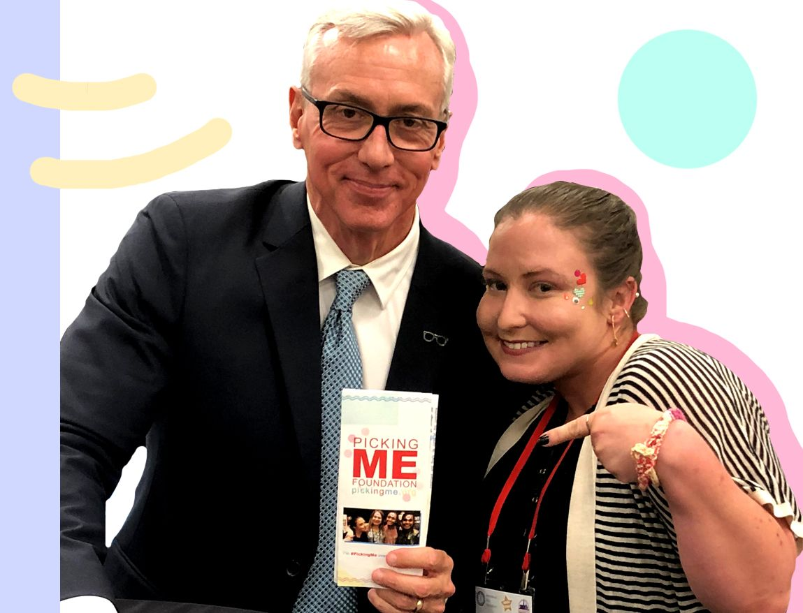 Picking Me Foundation CEO meets Dr. Drew