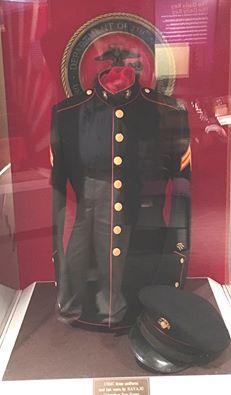 Navajo Code Talker's Dress Coat and Cap