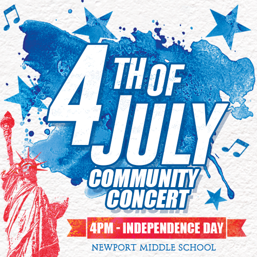 July 4th Free Concert - Live and In Person