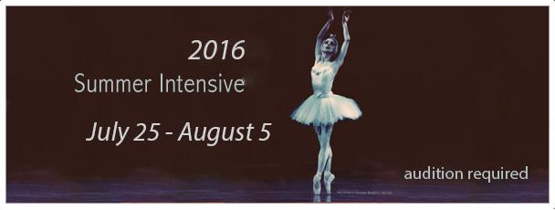 2016 Summer Intensive