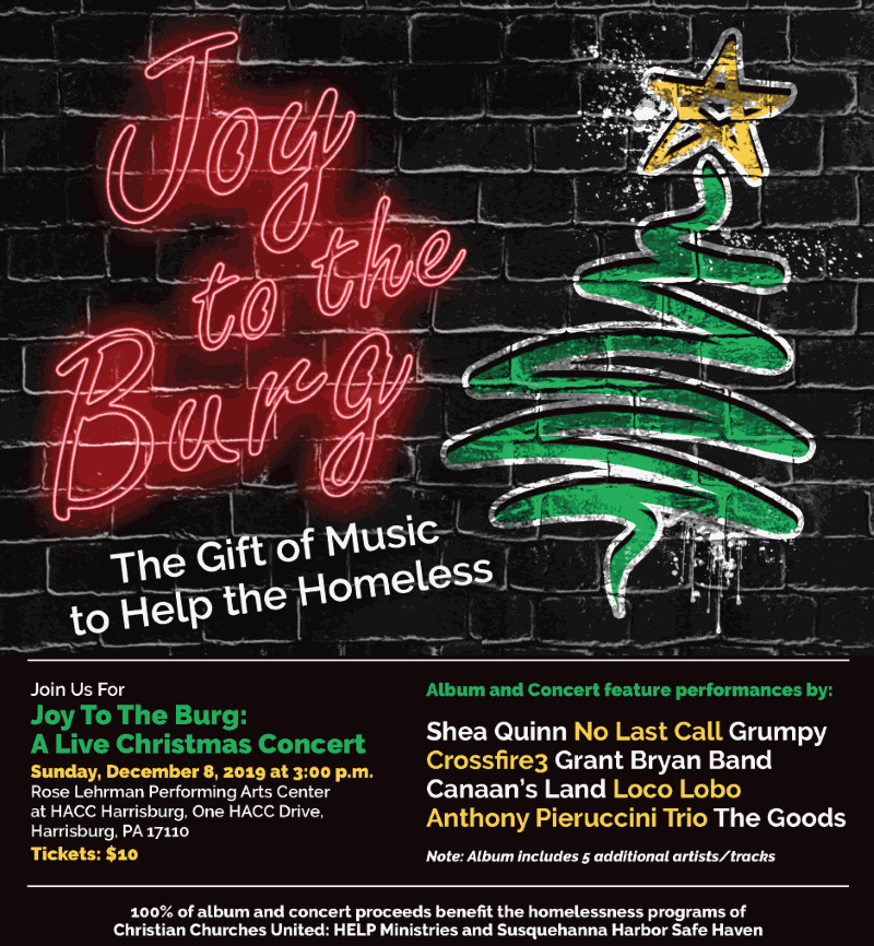 Joy To The Burg: A Live Christmas Concert