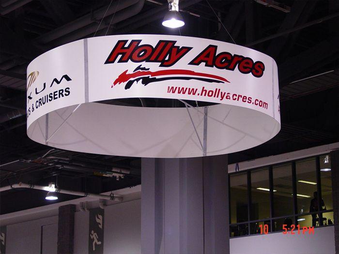 Holly Acres Custom Banner