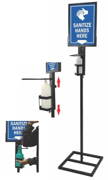 Elbow Sanitiser Stand